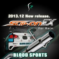 【BLOODSPORTS】 SLIP-on EX マフラー:TOYOTA車用
