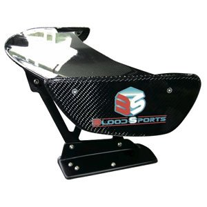 画像1: 【BLOOD SPORTS】3DカーボンGTウイング : CIVIC TypeR FD2 / Carbon GT wing
